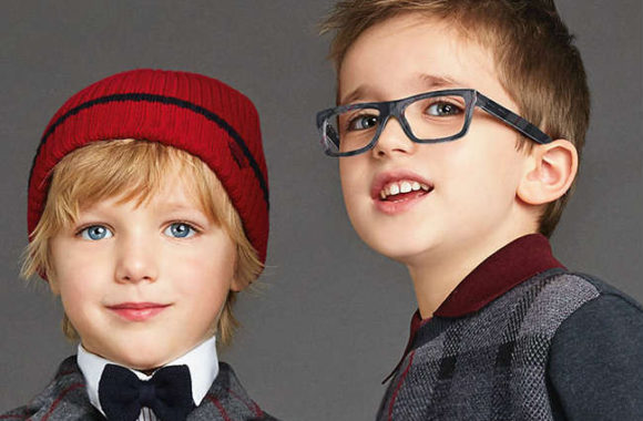 dg3205-2990-Boys-Squared-Glasses-Grey-Check-Frame